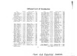02. Official List of Graduates 1867-1902