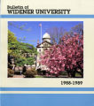 1988-1989 Undergraduate Course Bulletin - Widener University