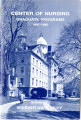 Widener University - Graduate Bulletins - Nursing