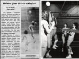 1982 - Widener Gives Birth to Volleyball