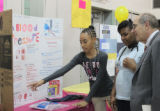 101. Stetser Sixth Graders Host Health Fair with Widener Education Students..